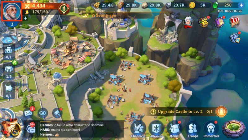 infinity kingdom gift codes step 1