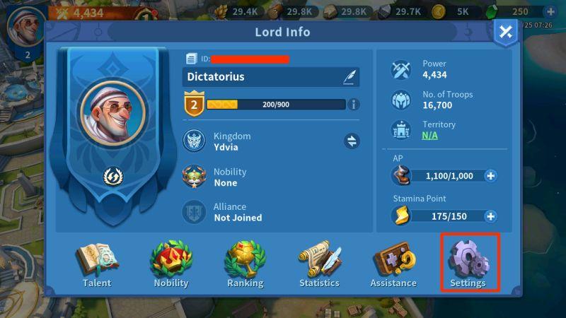 infinity kingdom gift codes step 2