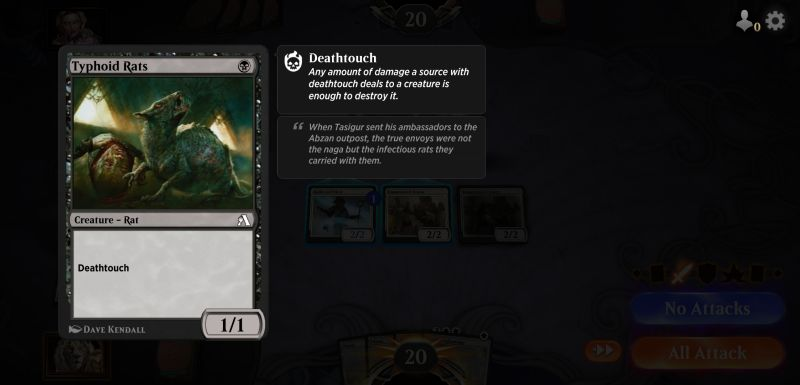 magic the gathering arena deathtouch
