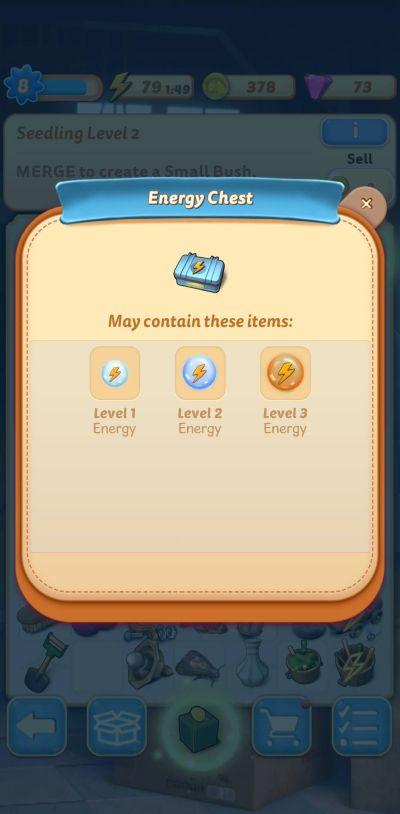merge mansion energy chest
