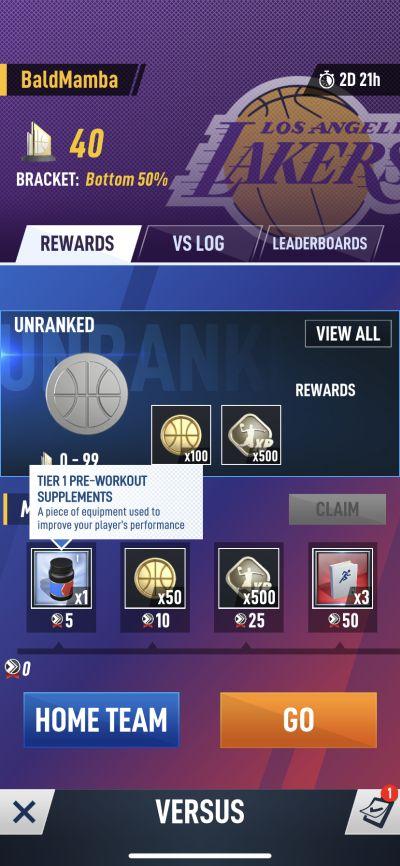 earning more rewards in nba ball stars