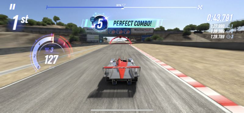 stringing together perfect combos in project cars go
