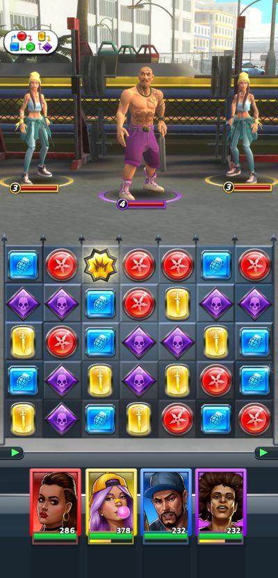 puzzle heist combat