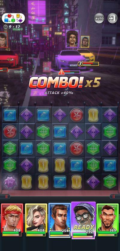 puzzle heist combos