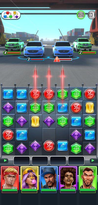 puzzle heist moves