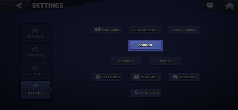 smash legends coupon codes step 6