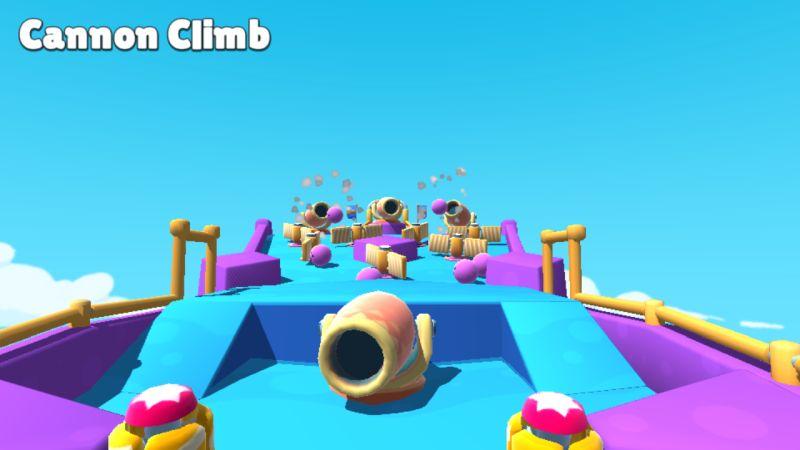 stumble guys cannon climb