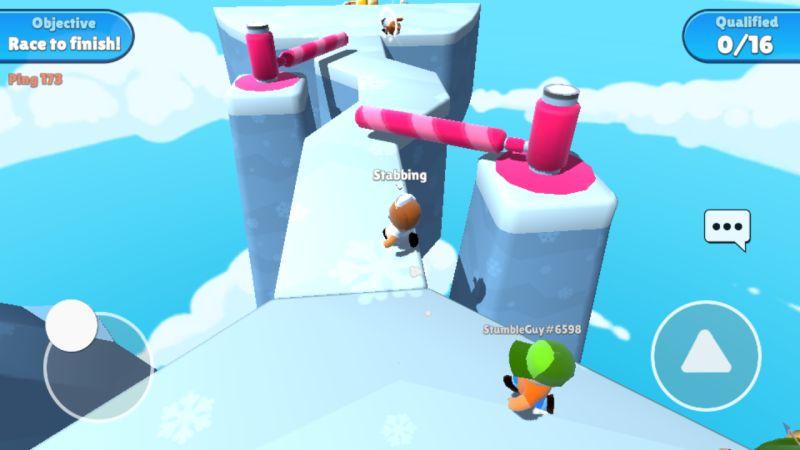 stumble guys icy heights