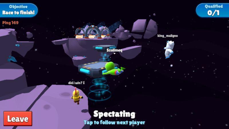 stumble guys space race