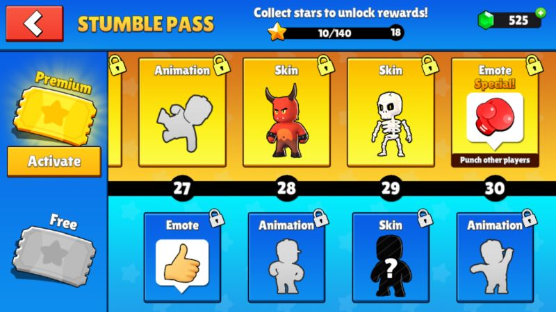 stumble guys stumble pass