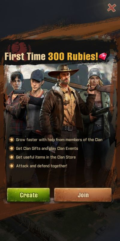 joining a clan in the walking dead survivors