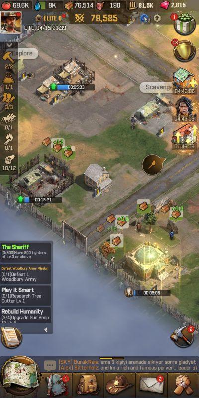 multitasking in the walking dead survivors