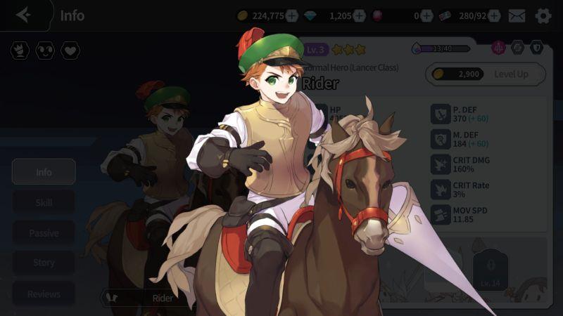 three-star lancers arcana tactics