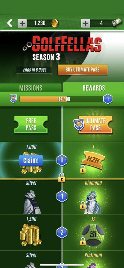 ultimate golf rewards