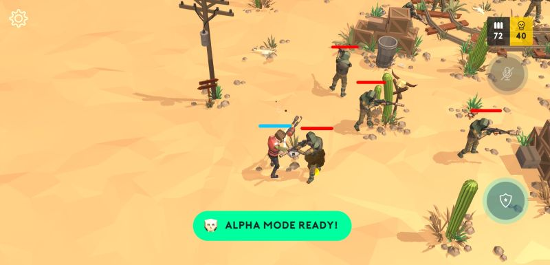 alpha mode in underdogs