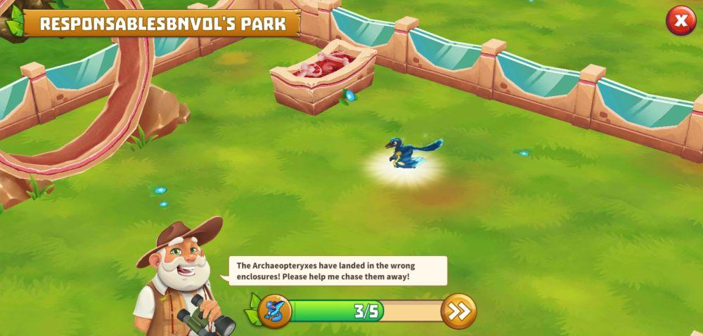 dinosaur park primeval zoo archaeopteryxes