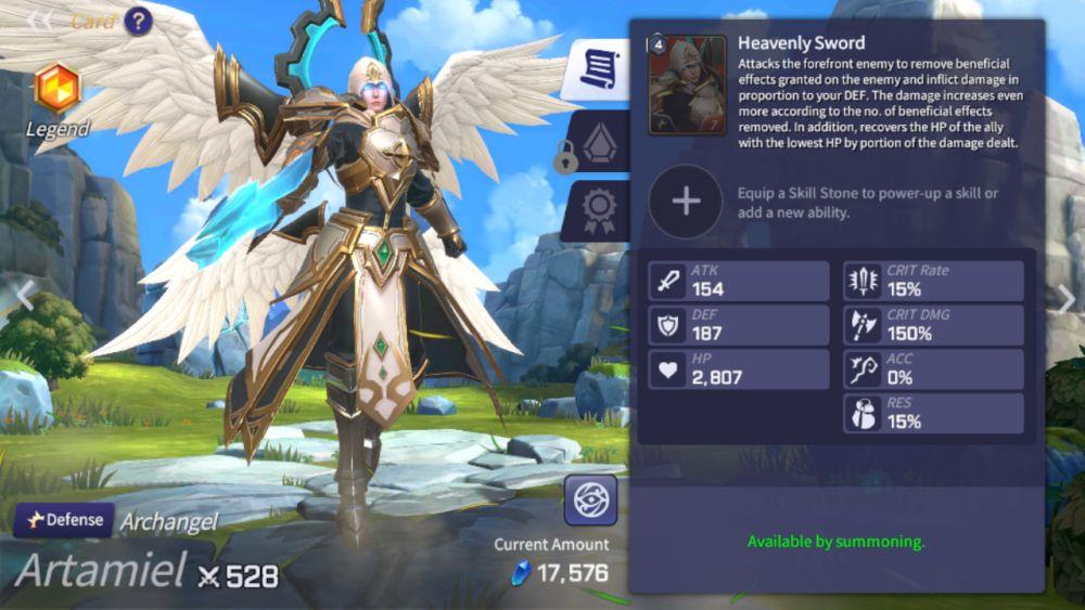 artamiel summoners war