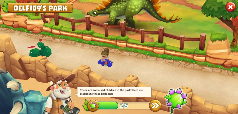 dinosaur park primeval zoo balloons