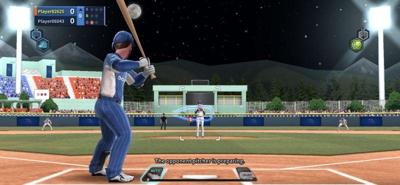 swinging the bat in baseball clash