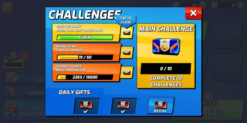 boom karts challenges