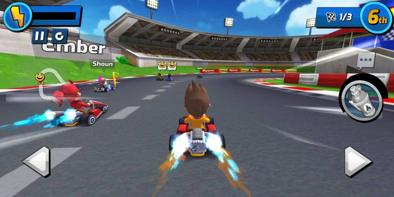 boom karts power ups
