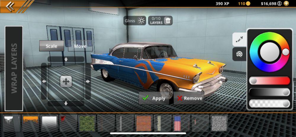 car customization no limit drag racing 2