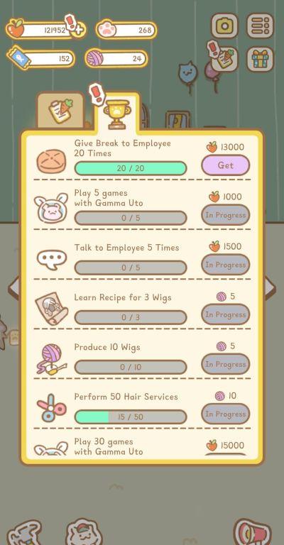 cat spa achievements
