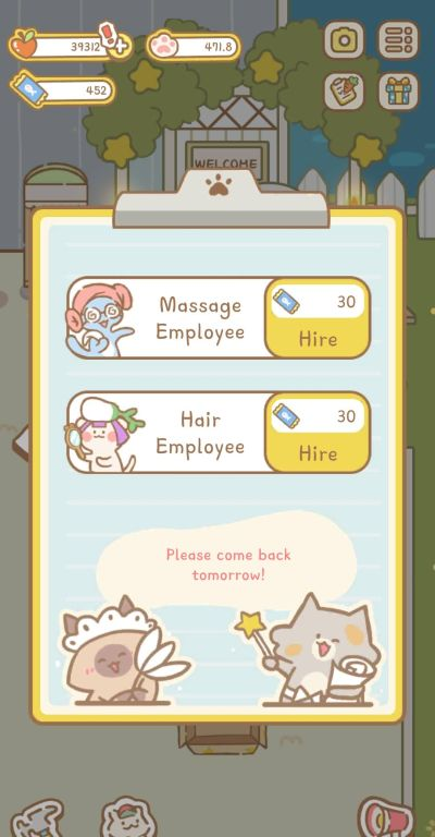 cat spa employees