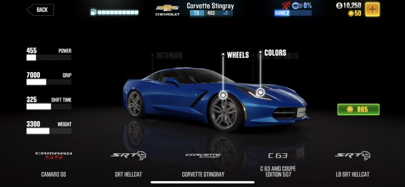 chevrolet corvette stingray csr racing 2