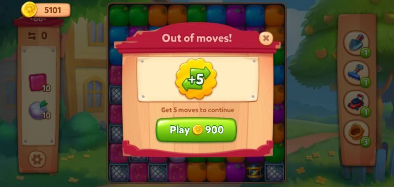 how to spend coins in farmscapes