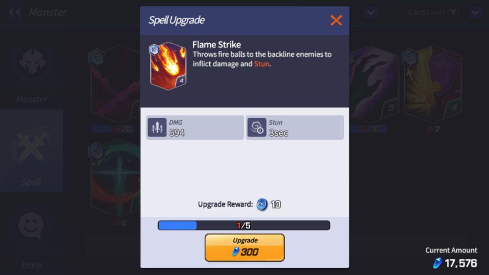 flame strike summoners war