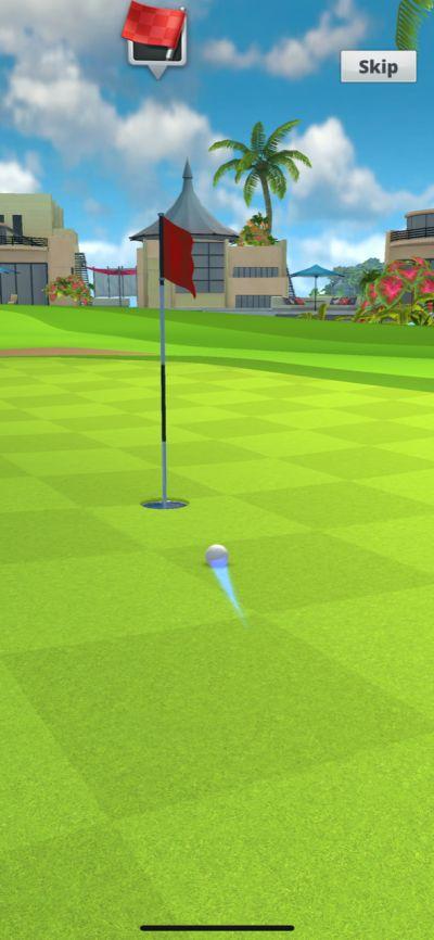 golf impact gameplay