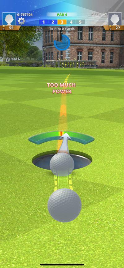 golf impact putting