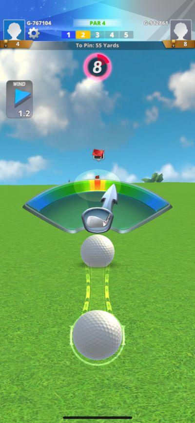 golf impact swing