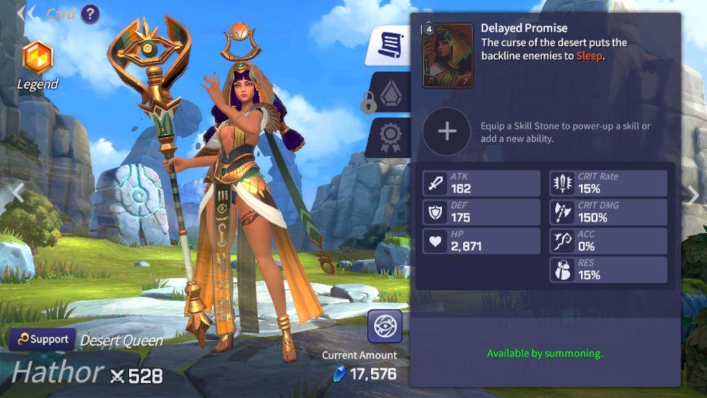 hathor summoners war