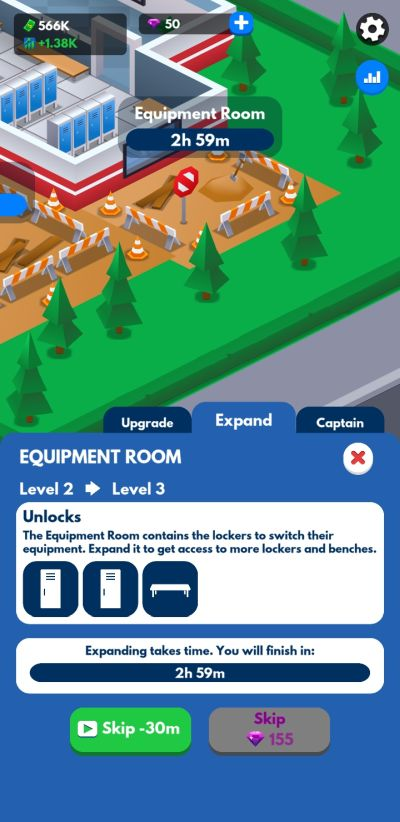 prioritizing the cheapest upgrades in idle firefighter tycoon