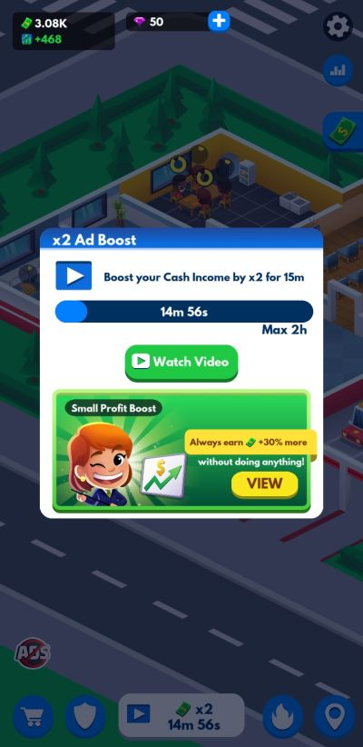 boosting profits in idle firefighter tycoon