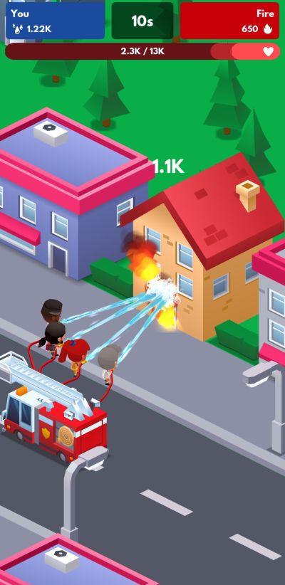 earning rewards in idle firefighter tycoon