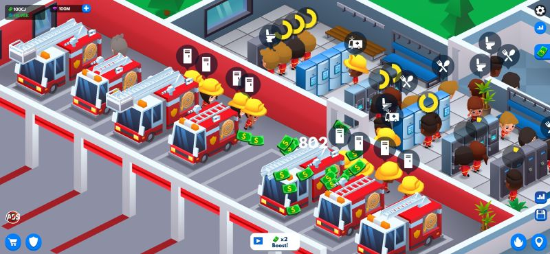 idle firefighter tycoon strategies