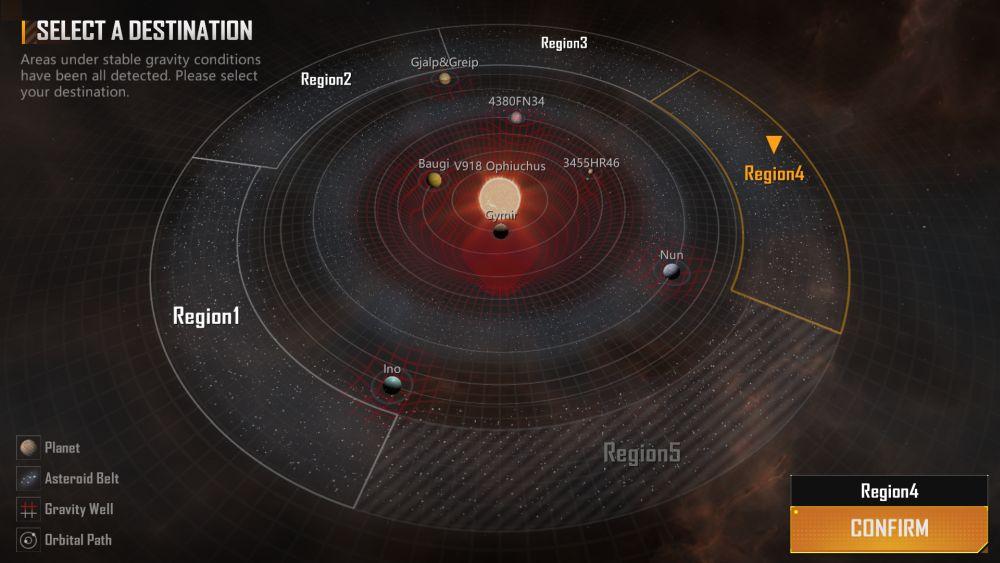 infinite lagrange star map
