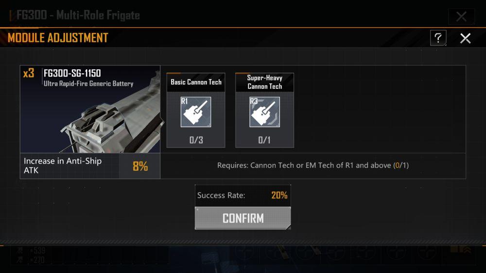 infinite lagrange weapon tweak
