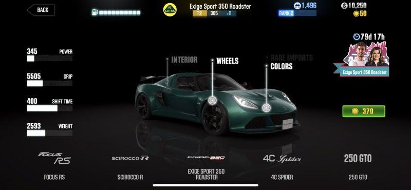 lotus exige sport 350 roadster csr racing 2