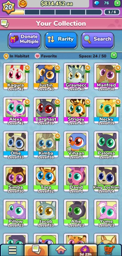 merge zoo collection