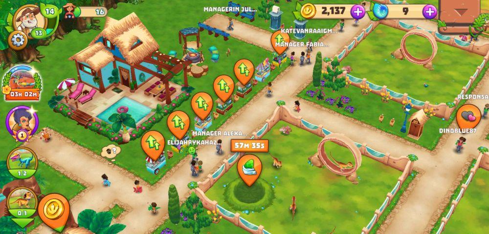 dinosaur park primeval zoo new park layout
