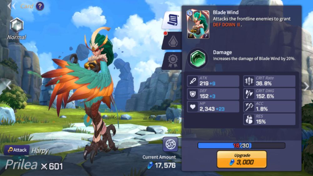 prilea summoners war
