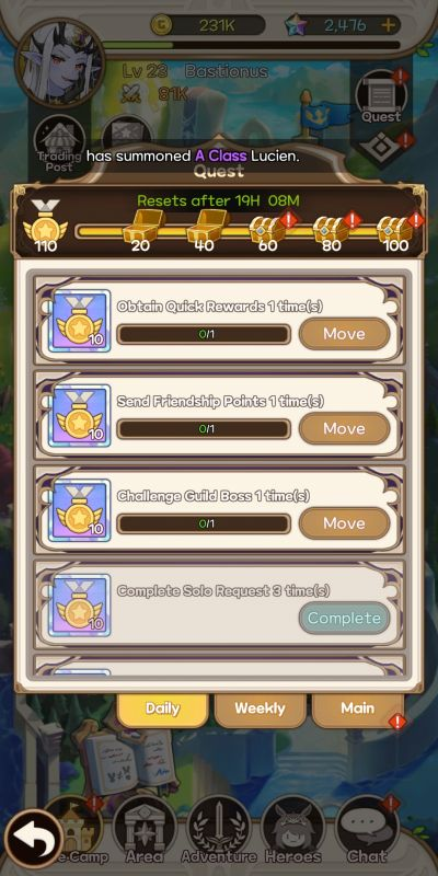 earning more rewards in princess tale