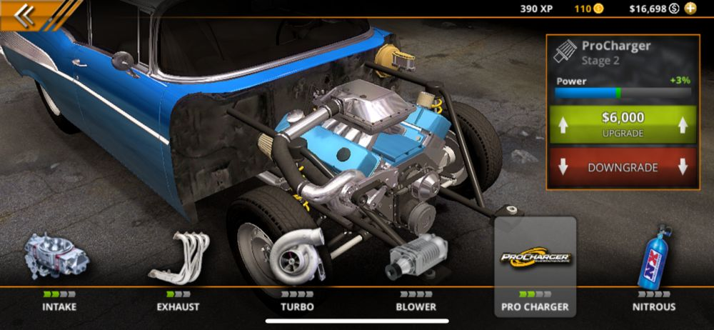 pro charger no limit drag racing 2