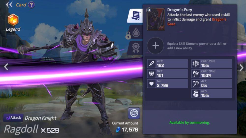 ragdoll summoners war