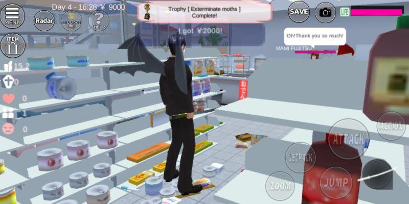 sakura school simulator convenience store