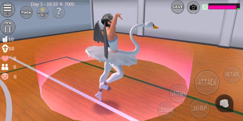 sakura school simulator gym